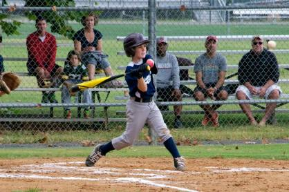 Caleb batting