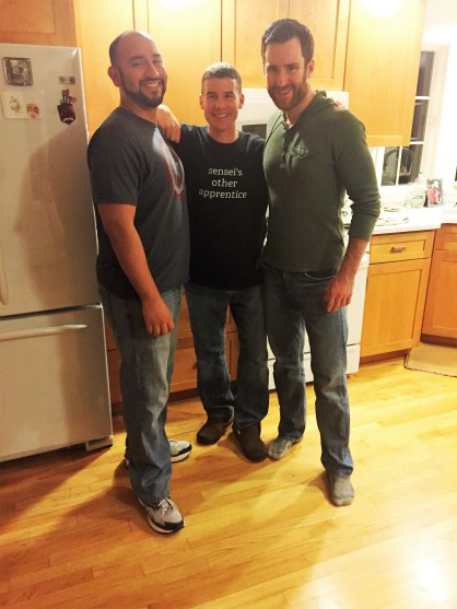 A Salvadoran, an Italian, and an Irishman walk into a kitchen...